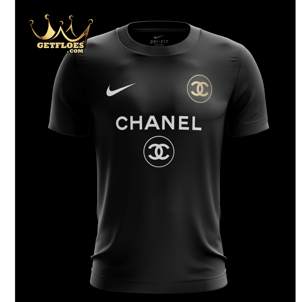 7132ac432 Home fashion nike chanel png 1264x1264 Jersey nike chanel